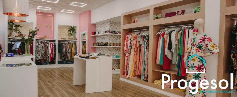 Reforma de tienda boutique de ropa
