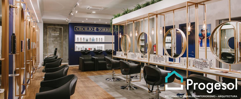 Reforma de salón de peluquería en Telde Cecilio Torres